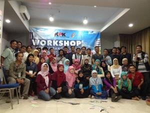 Foto Bareng Peserta Workshop Bandung