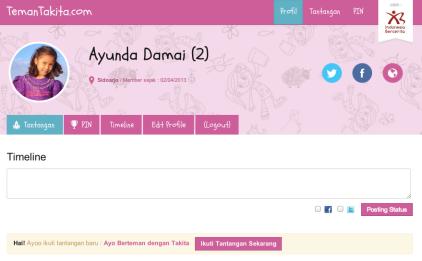 Profil Pengguna TemanTakita.com