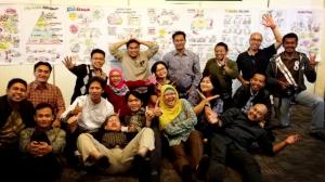Foto bareng workshop Appreciative Inquiry KPK